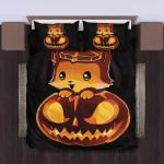 Fox Halloween Bedding Set Bedroom Decor