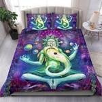Purple Cosmic Rick Bedding Set Bedroom Decor