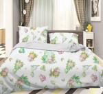 3d Color Cartoon Dinosaurs Pattern Bedding Set Bedroom Decor