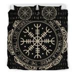 Viking Protection Symbol Bedding Set Bedroom Decor