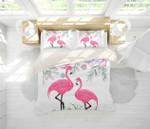 3d Color Flowers Flamingo Bedding Set Bedroom Decor