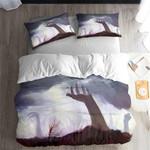 Zombie Series Pattern Gray 3D Bedding Set Bedroom Decor