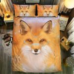 Fox Collection Over Printed Bedding Set Bedroom Decor
