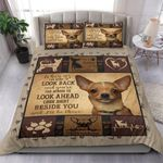 Chihuahua Look Right Beside You I'll Be There Bedding Set Bedroom Decor
