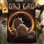 Fox Golden Ball Printed Bedding Set Bedroom Decor