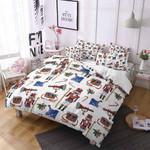 The Nutcracker Cartoon Printed Bedding Set Bedroom Decor