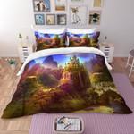 3d Forest Castle Bedding Set Bedroom Decor