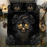 Mystery Skull Printed Bedding Set Bedroom Decor
