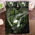 Generade Skull Bedding Set Bedroom Decor