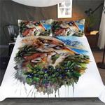 Wolf Family Animal Life Bedding Set Bedroom Decor