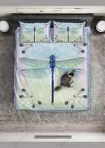 Dragonfly Light Up The Sky Printed Bedding Set Bedroom Decor