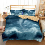 Digital Printing Tornado Hurricane Florence Path Bedding Set Bedroom Decor