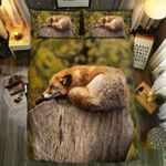 Fox Good Night Bedding Set Bedroom Decor