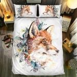 Flower Fox Bedding Set Bedroom Decor