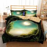 Framed Moonlit Night Bedding Set Bedroom Decor