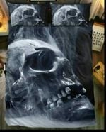 Scary Skull Horror Bedding Set Bedroom Decor