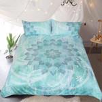 Lotus Flower Bohemian Printed Bedding Set Bedroom Decor