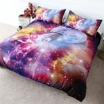 Forever Giraffe Galaxy 3D Printed Bedding Set Bedroom Decor