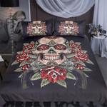 Red Eyes Skull  Bedding Set Bedroom Decor