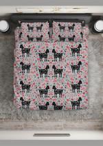 Tell Me Honesty Goat Pattern Printed Bedding Set Bedroom Decor