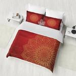 Gold Mandala  Bohemian  Bedding Set Bedroom Decor
