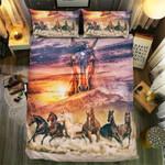 Highland Kingdom Horse Collection  Bedding Set Bedroom Decor