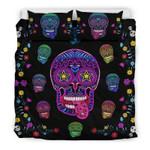 Sugar Skull Superstar For Lovers Of Skulls Printed Bedding Set Bedroom Decor