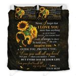 Love My Daughter More Than Anything Bedding Set Bedroom Decor