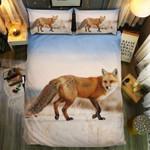 Lonely Fox In Life Bedding Set Bedroom Decor