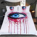 Pink By Pixie Cold Art Printed Bedding Set Bedroom Decor