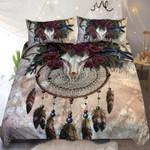Horn Skull Dreamcatcher Kit Printed Bedding Set Bedroom Decor
