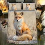 Fox Lonely Sitting Bedding Set Bedroom Decor