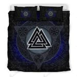 Vikings Symbol Triangle 3D Printed Bedding Set Bedroom Decor
