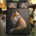Fox Dark Theme Bedding Set Bedroom Decor