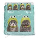 Two Cats Meow  Bedding Set Bedroom Decor