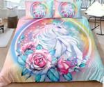 Unicorn Watercolour Bedding Set Bedroom Decor