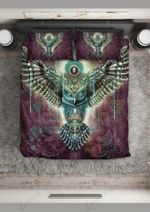 Mystical Owl Bedding Set Bedroom Decor