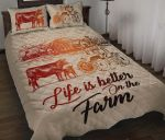 Farm Life Is Better On The Farm  Bedding Set Bedroom Decor