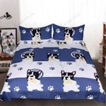 Frenchie Paws 3D  Bedding Set Bedroom Decor