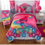 Girls Pink Blue Kids Bedding Set Bedroom Decor
