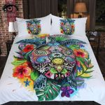 Turtle Life By Pixie Cold Art Printed Bedding Set Bedroom Decor
