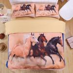 Pack Of Horse Desert Printed Bedding Set Bedroom Decor