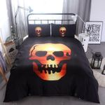 Skull Sunset Bedding Set Bedroom Decor