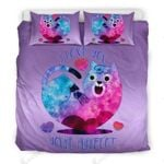 I Love You You'Re Purrfect For Cat Lovers Printed Bedding Set Bedroom Decor