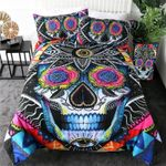 Susk Rosy Eyes Printed Bedding Set Bedroom Decor
