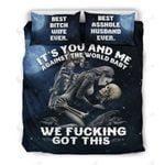 You And Me Against The World Bedding Set Bedroom Decor