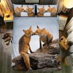 Loving Fox Bedding Set Bedroom Decor