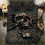 Horror Skulls Bedding Set Bedroom Decor