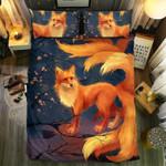 Fox Dreamy Background Bedding Set Bedroom Decor