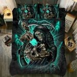 Halloween The Death Is Coming Bedding Set Bedroom Decor